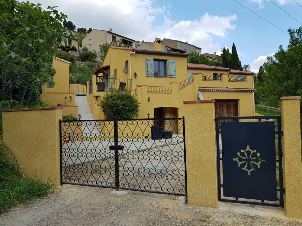 Chambre d`hôte l`Occitane à Cucugnan